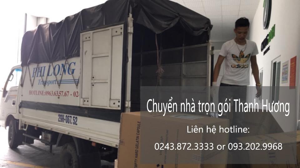 Chuyển văn phòng Hà Nội tại phố Lạc Chính