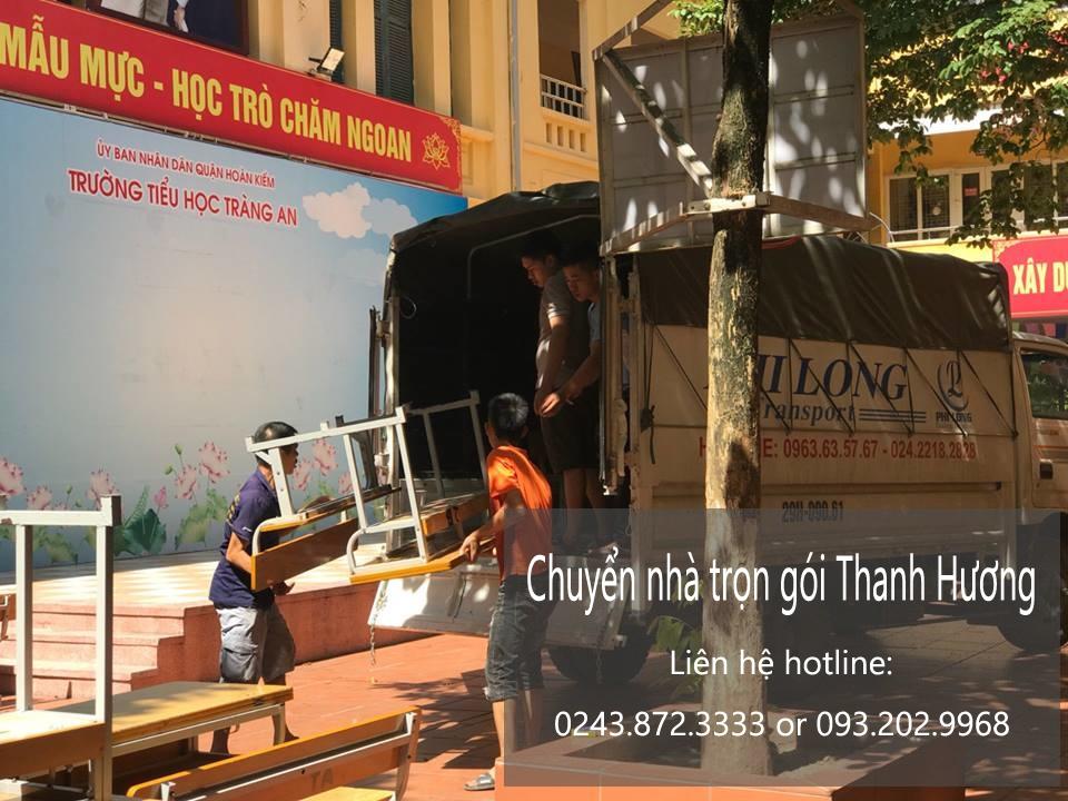 Chuyển văn phòng Hà Nội tại phố Lương Văn Can