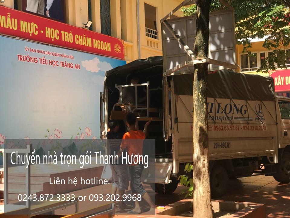 Chuyển văn phòng Hà Nội tại phố Trấn Vũ