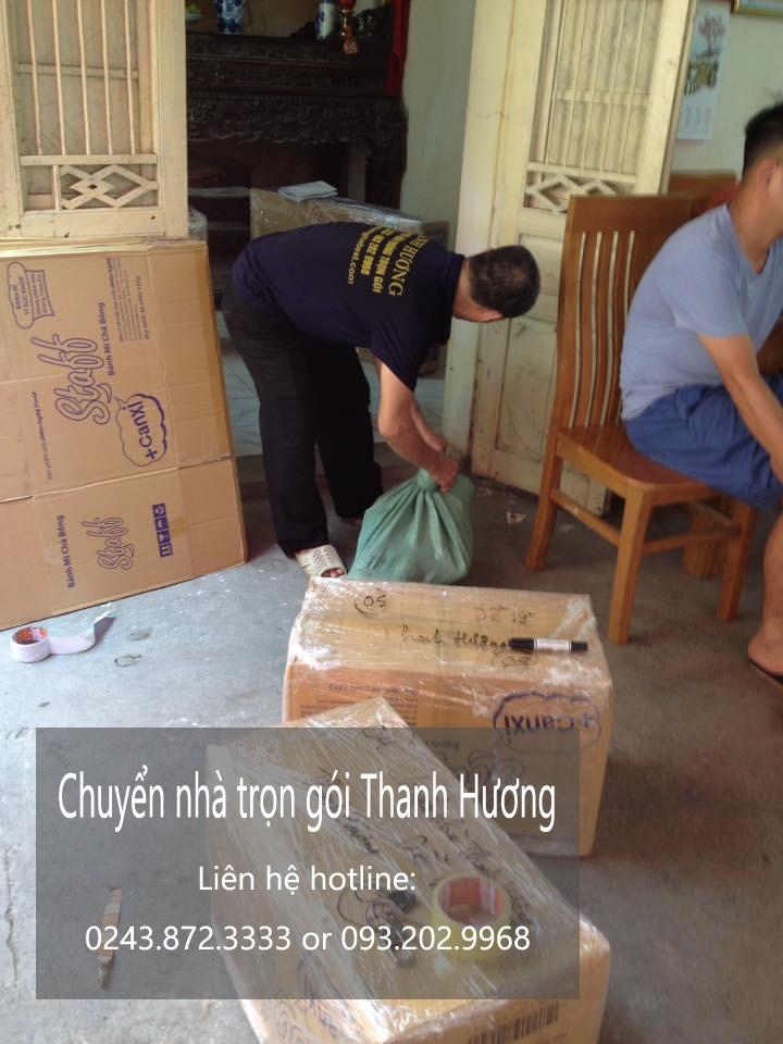 Dịch vụ chuyển văn phòng Hà Nội tại phố Chùa Láng