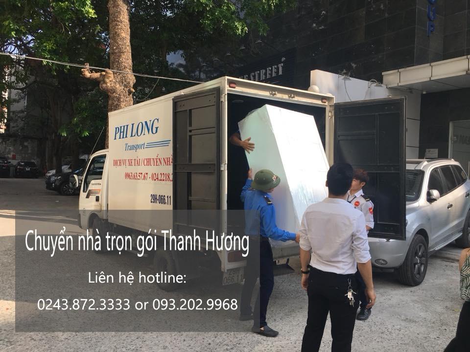 Dịch vụ chuyển văn phòng Hà Nội tại đường Duy Tân