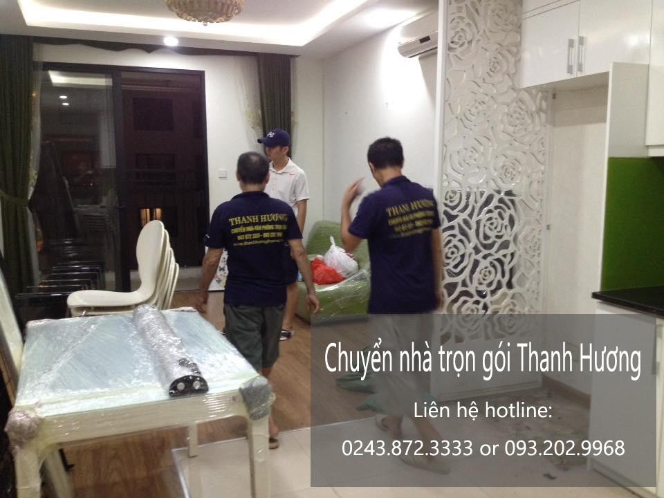 Dịch vụ chuyển văn phòng Hà Nội tại phố Tô Ngọc Vân