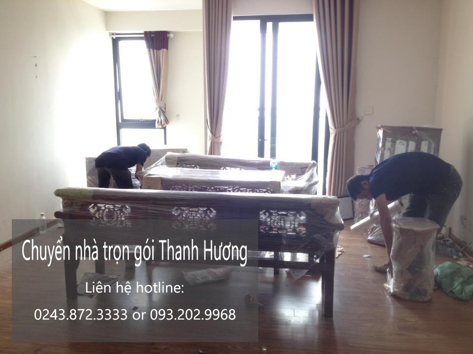 Dịch vụ chuyển văn phòng Hà Nội tại đường Triệu Việt Vương