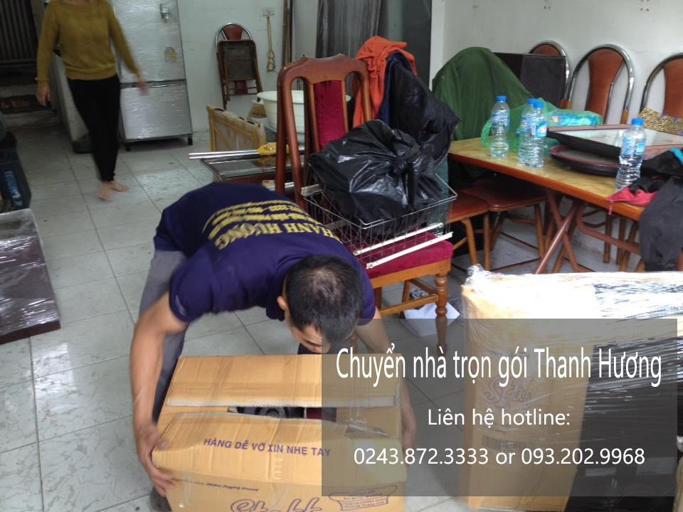Chuyển văn phòng Hà Nội tại phố Hương Viên