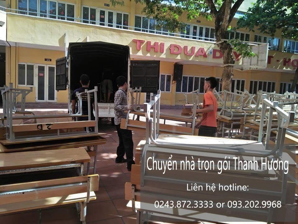 Dịch vụ chuyển văn phòng Hà Nội tại phố Vũ Trọng Phụng