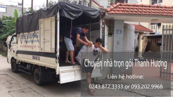 Dịch vụ chuyển văn phòng Hà Nội tại phố Hoàng Công Chất