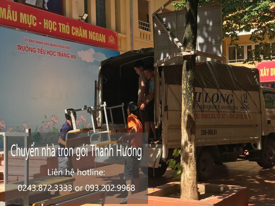 Chuyển văn phòng tại phố Nguyễn Hữu Huân