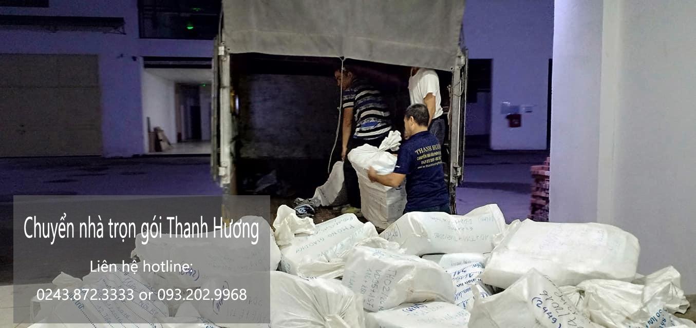 Chuyển văn phòng Hà Nội tại phố Chân Cầm
