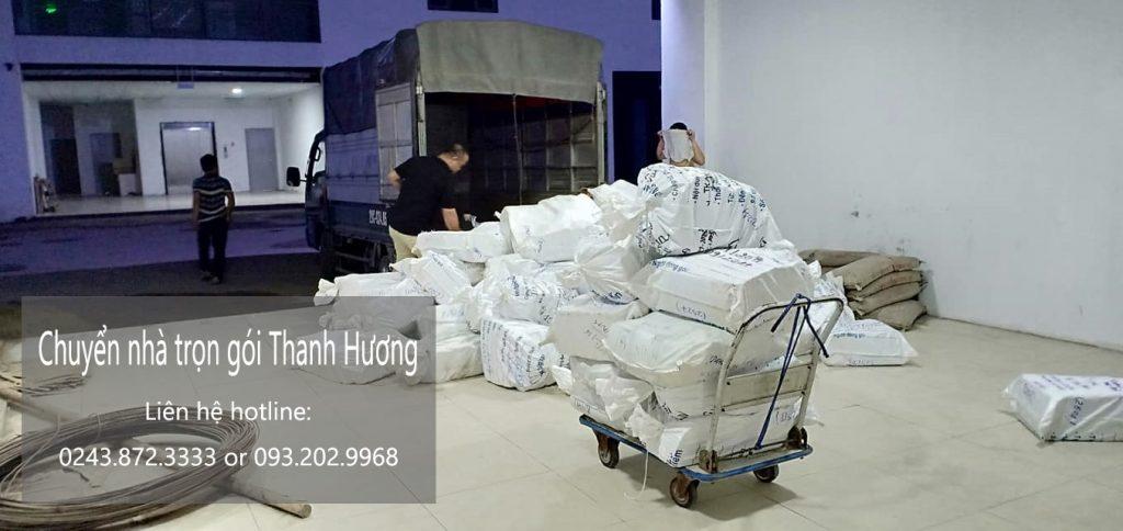 Dịch vụ chuyển văn phòng Hà Nội tại phố Lê Trực