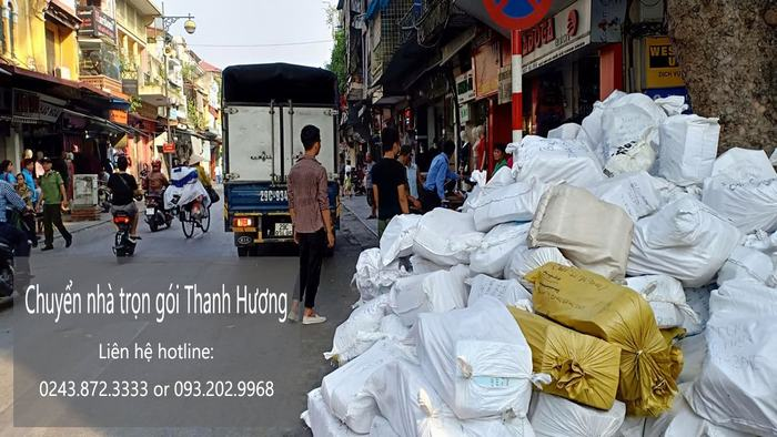Dịch vụ chuyển văn phòng trọn gói tại phố Hàng Đậu
