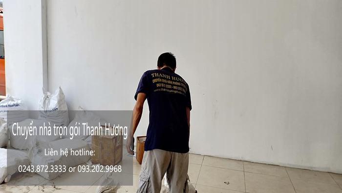 Chuyển văn phòng trọn gói tại phố Ấu Triệu