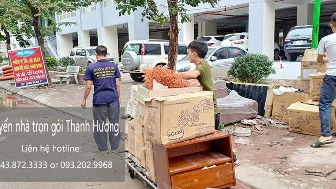 Dịch vụ chuyển văn phòng trọn gói tại phố Bát Sứ