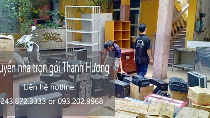 Dịch vụ chuyển văn phòng Hà Nội tại phố Đỗ Quang
