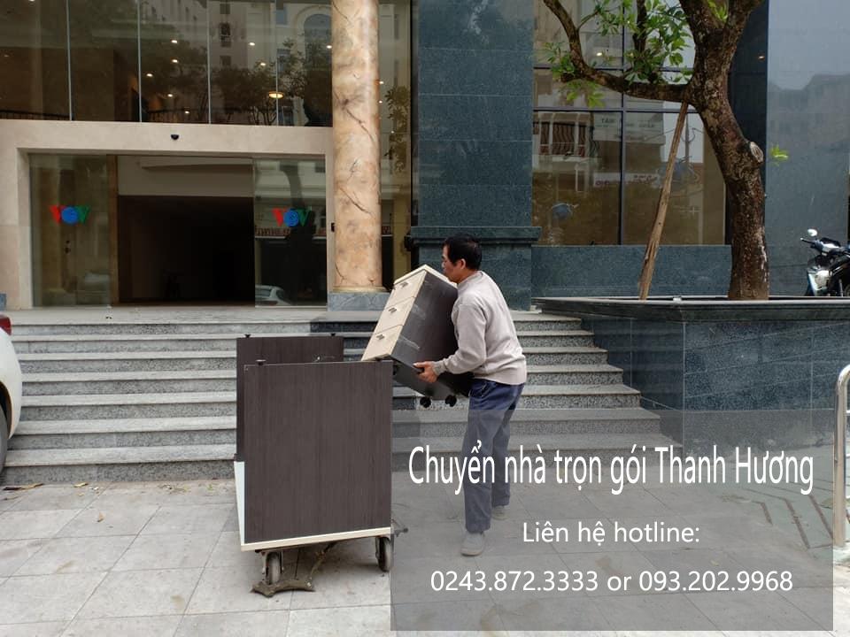 Dịch vụ chuyển văn phòng tại phố Tây Đăm