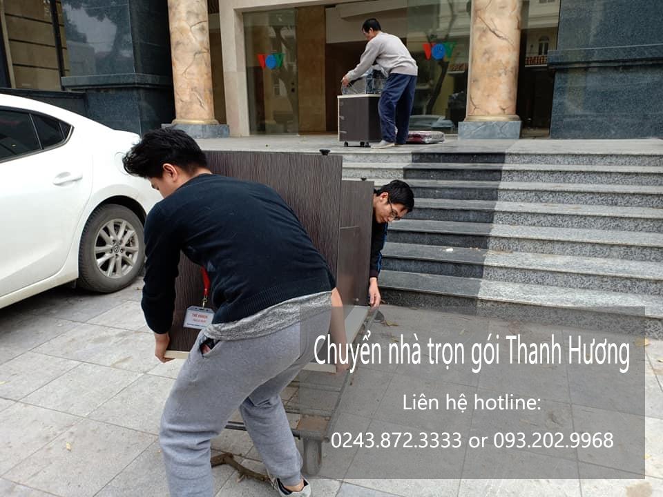 Dịch vụ chuyển văn phòng tại phố Trần Tế Xương