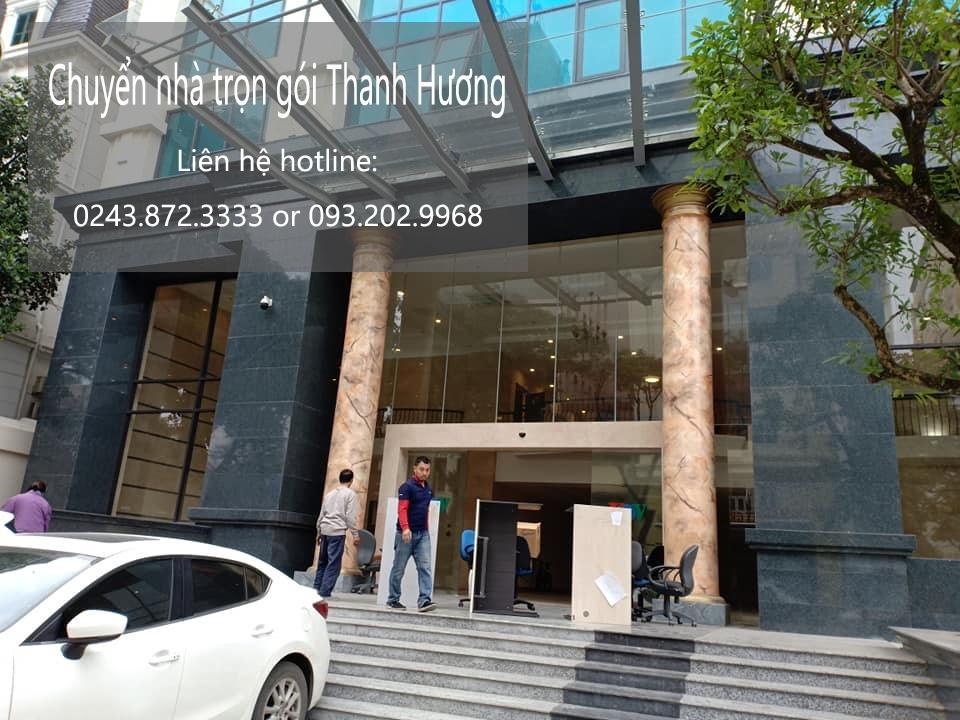 Dịch vụ chuyển văn phòng Hà Nội tại phố Nghĩa Tân