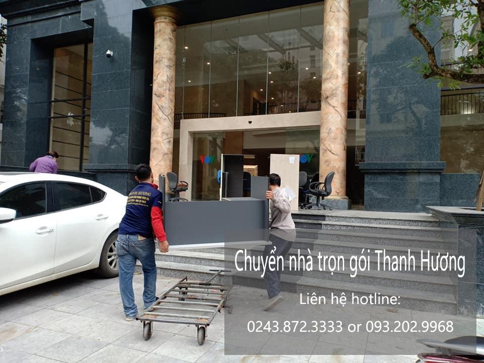 Dịch vụ chuyển văn phòng Hà Nội tại phố Nguyễn An Ninh