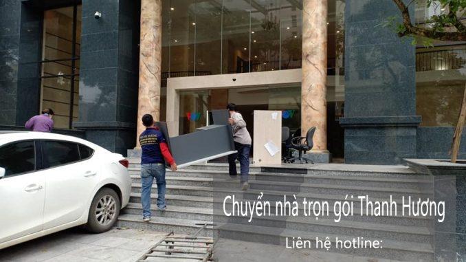 Chuyển văn phòng Hà Nội tại phố Đào Tấn