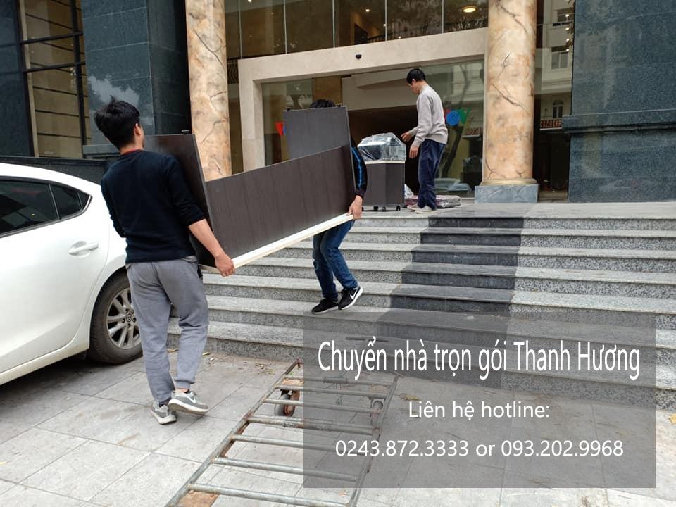 Dịch vụ chuyển văn phòng Hà Nội tại phố Nguyễn Chánh