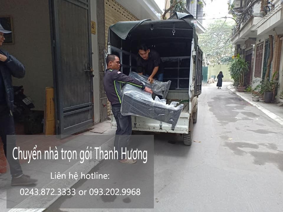 Dịch vụ chuyển văn phòng tại phố Đa Tốn