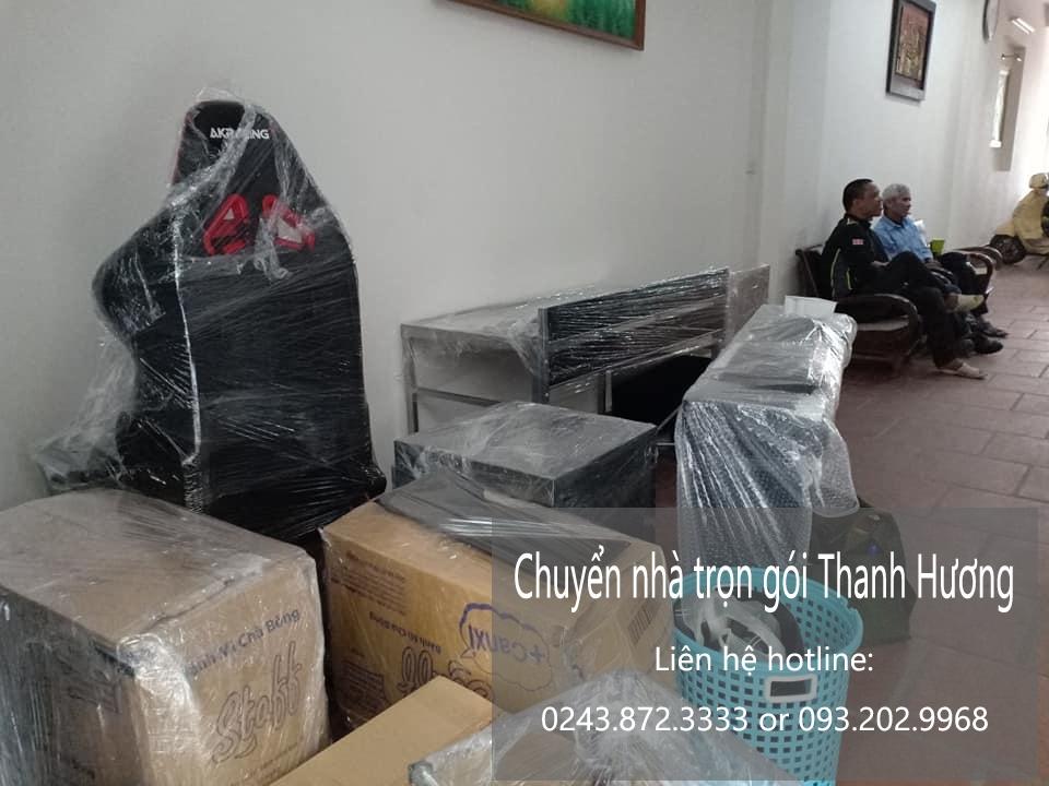 Dịch vụ chuyển văn phòng Hà Nội tại phố Chính Trung
