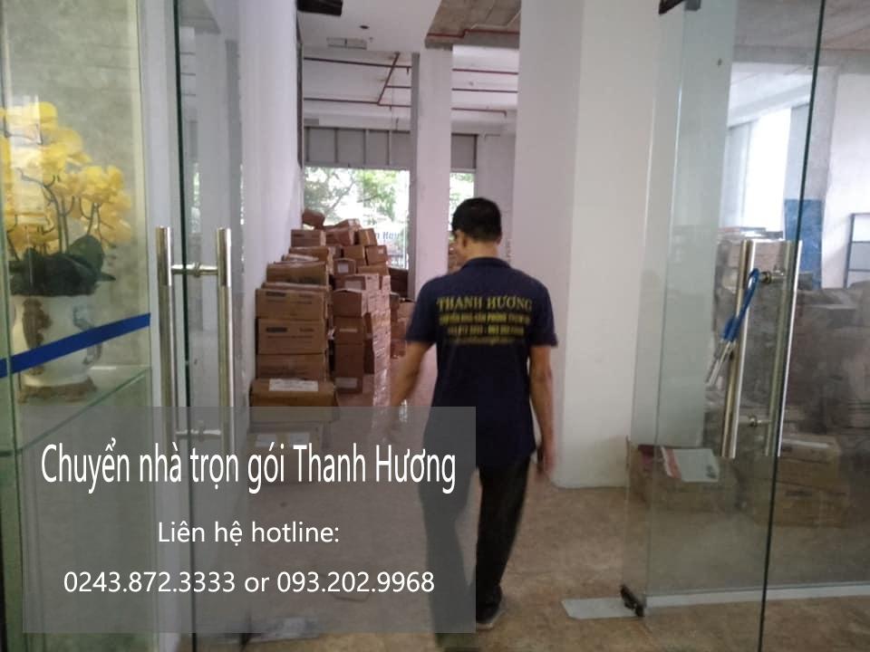 Dịch vụ chuyển văn phòng Thanh Hương tại phố Cao Thắng