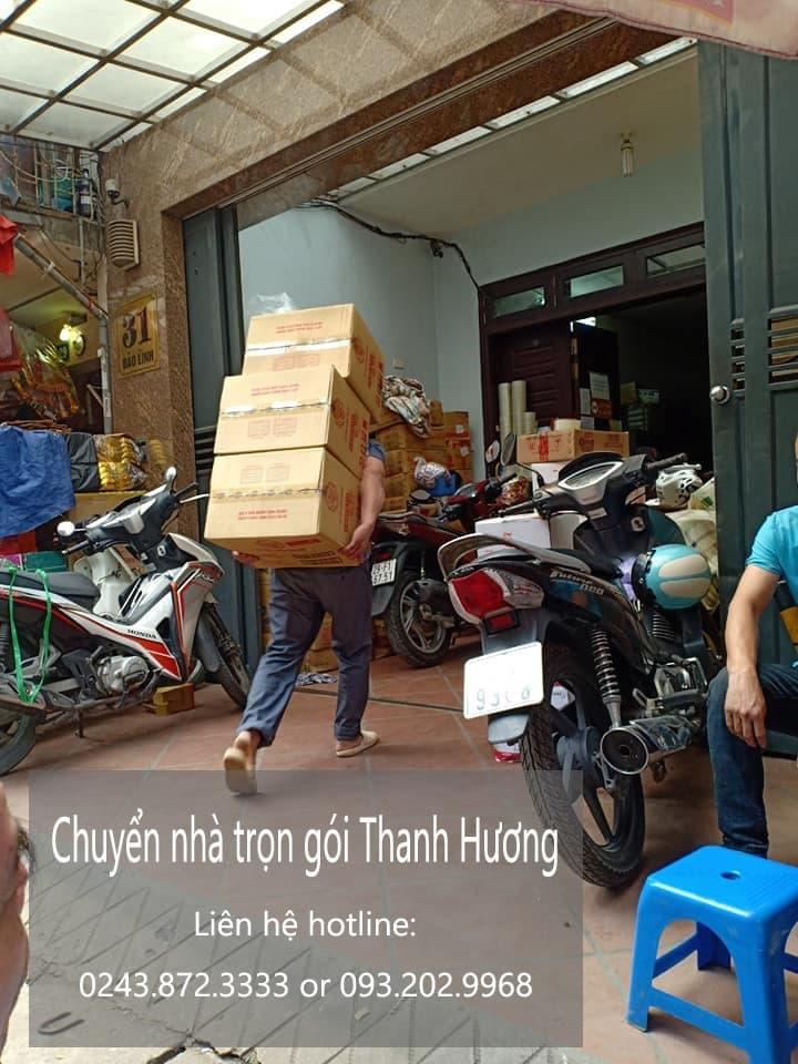 Chuyển văn phòng Thanh Hương tại phố Nhà Hỏa