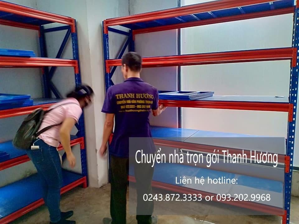 Dịch vụ chuyển văn phòng Hà Nội tại phố Trần Điền