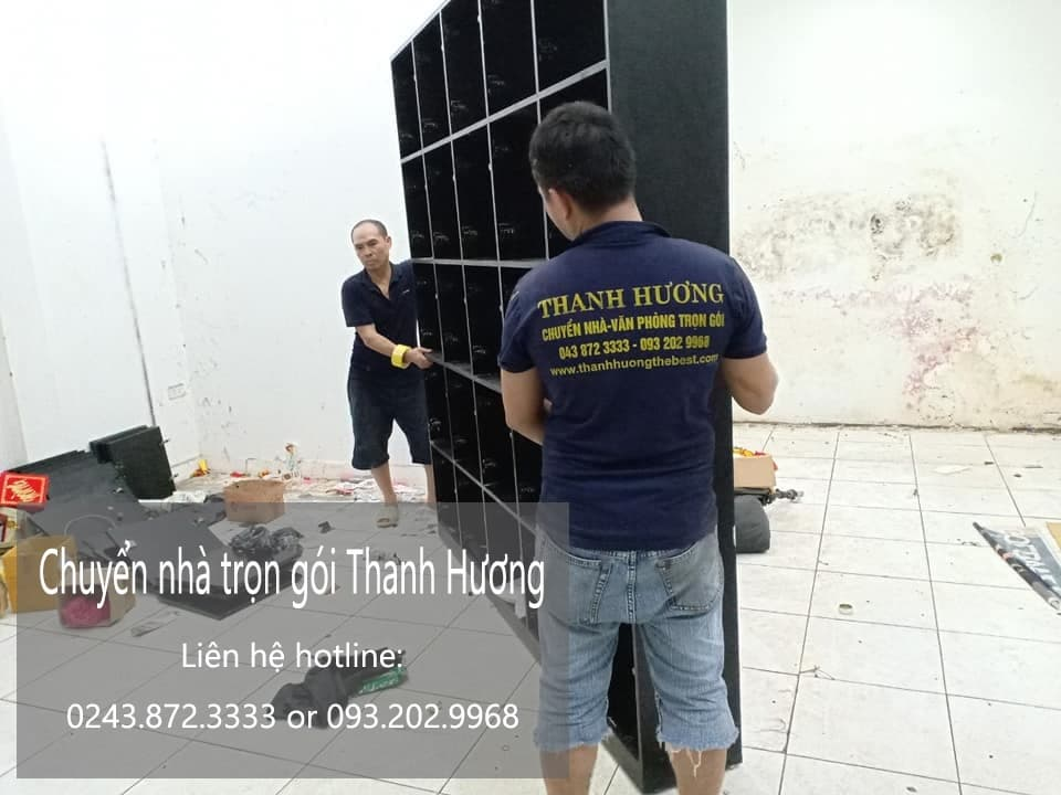 Dịch vụ chuyển văn phòng Hà Nội tại phố Triều Vũ
