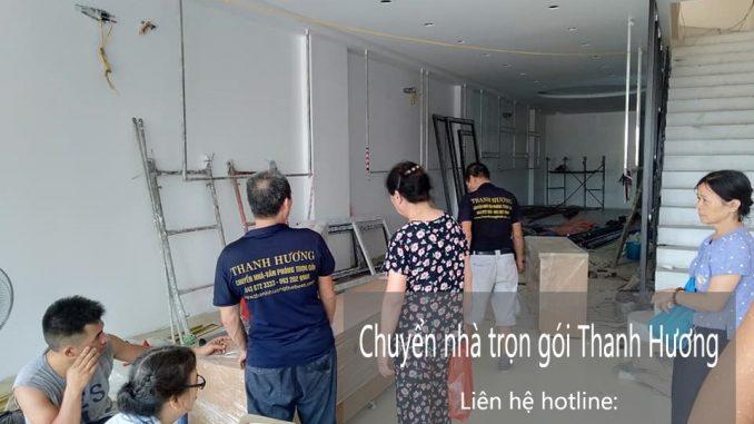 Dịch vụ chuyển văn phòng Hà Nội tại phố Quảng An