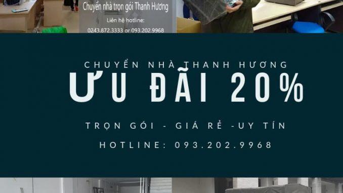 Dịch vụ chuyển văn phòng Hà Nội tại phố Cầu Am