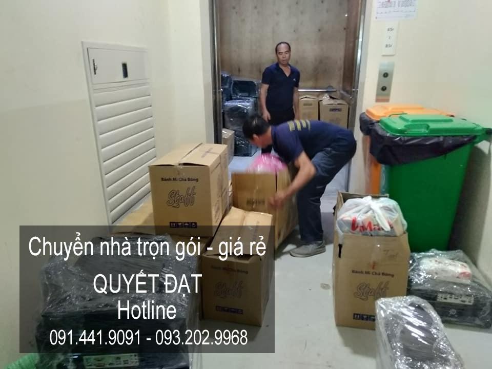 Chuyển văn phòng Hà Nội tại phố Linh Đường
