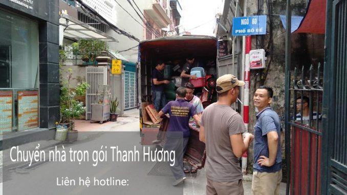 Dịch vụ chuyển văn phòng tại phố Phú Kiều