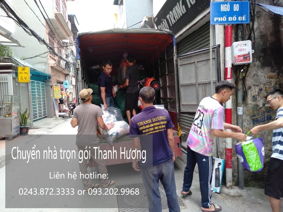 Dịch vụ chuyển văn phòng tại phố Trịnh Đình Cửu