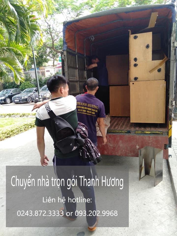 Dịch vụ chuyển văn phòng tại phố Nguyễn Thực