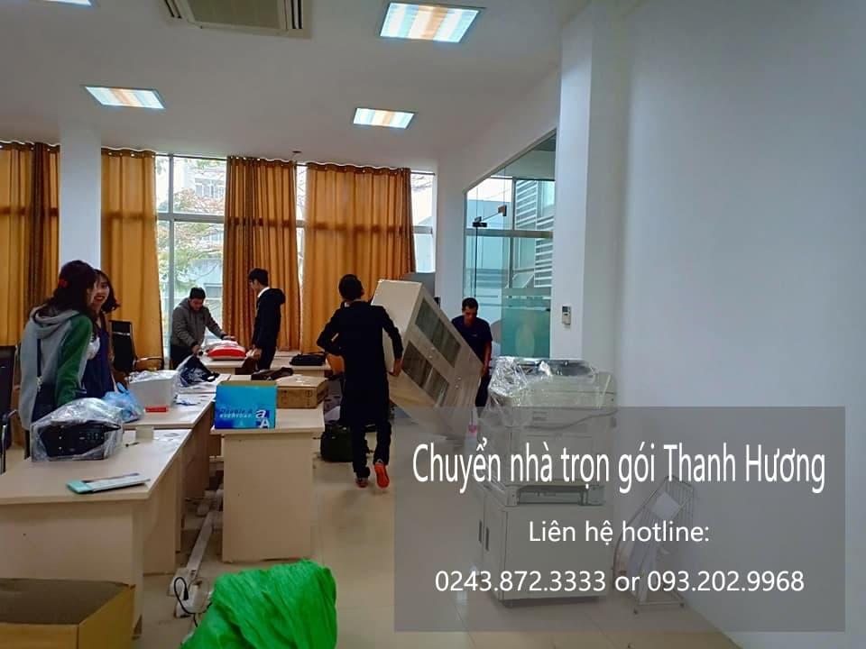 Chuyển văn phòng Hà Nội tại phố Gia Biên