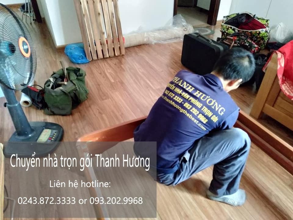 Chuyển nhà Hà Nội tại phố Hồng Tiến