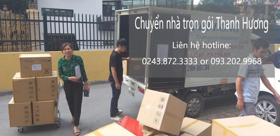 Chuyển nhà uy tín Hà Nội tại Đại Lộ Thăng Long