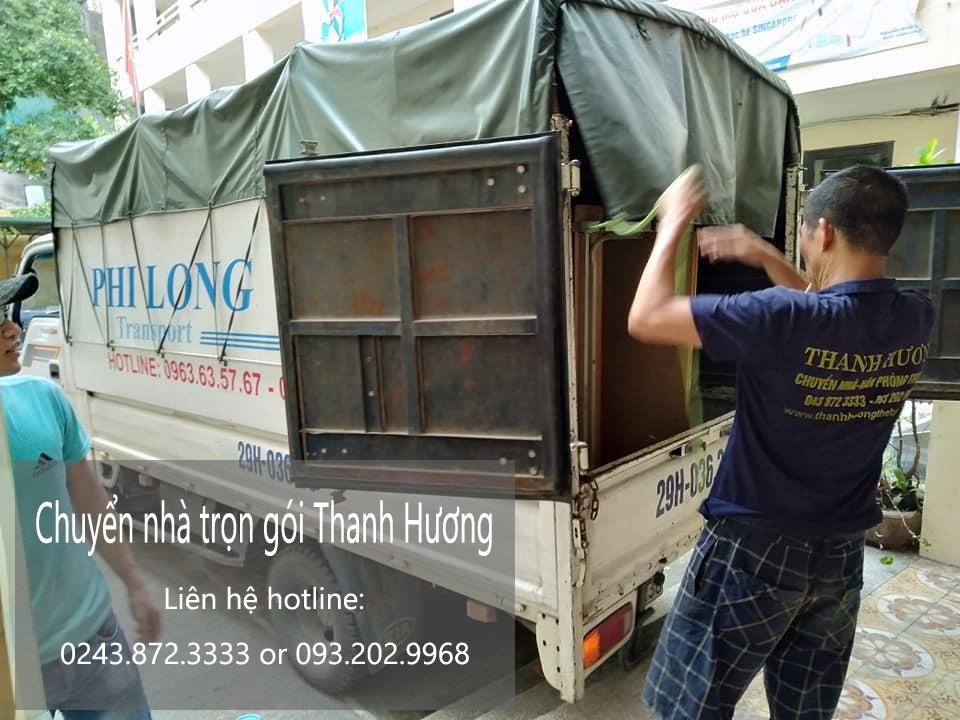 Dịch vụ chuyển nhà Hà Nội uy tín tại phố Dương Đình Nghệ