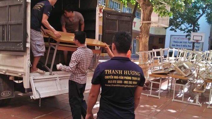 Dịch vụ chuyển văn phòng Thanh Hương tại phường Giáp Bát