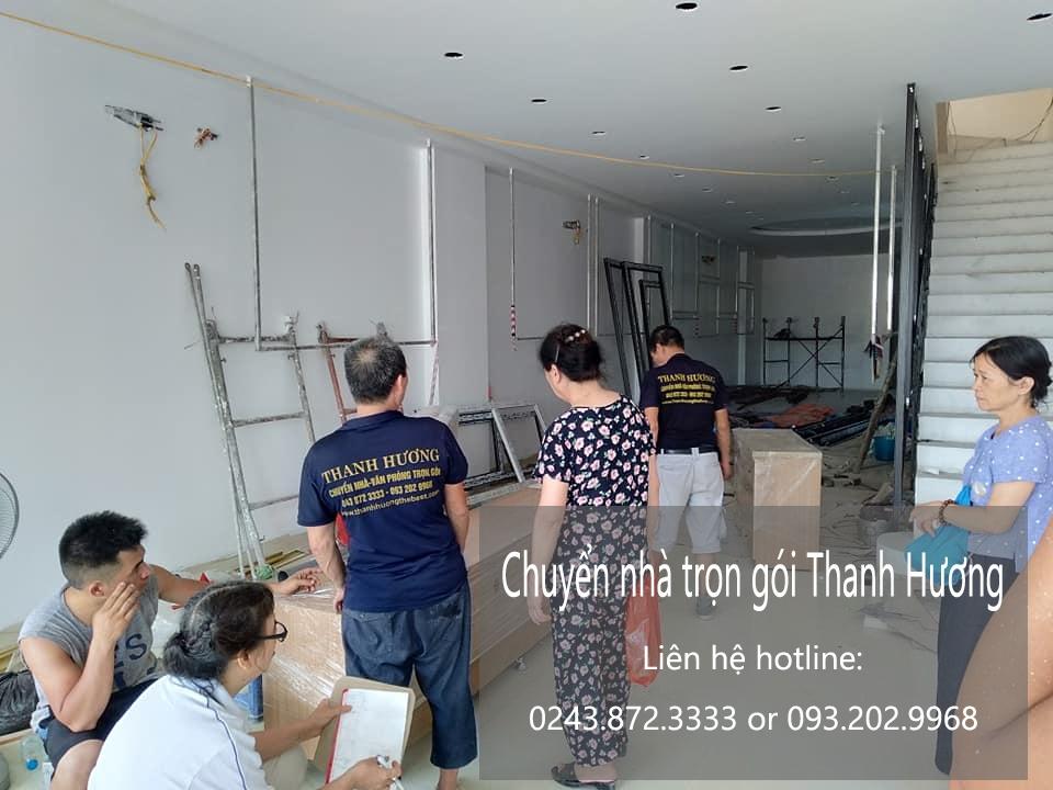 Hãng chuyển văn phòng Hà Nội tại phố Nguyễn Bình