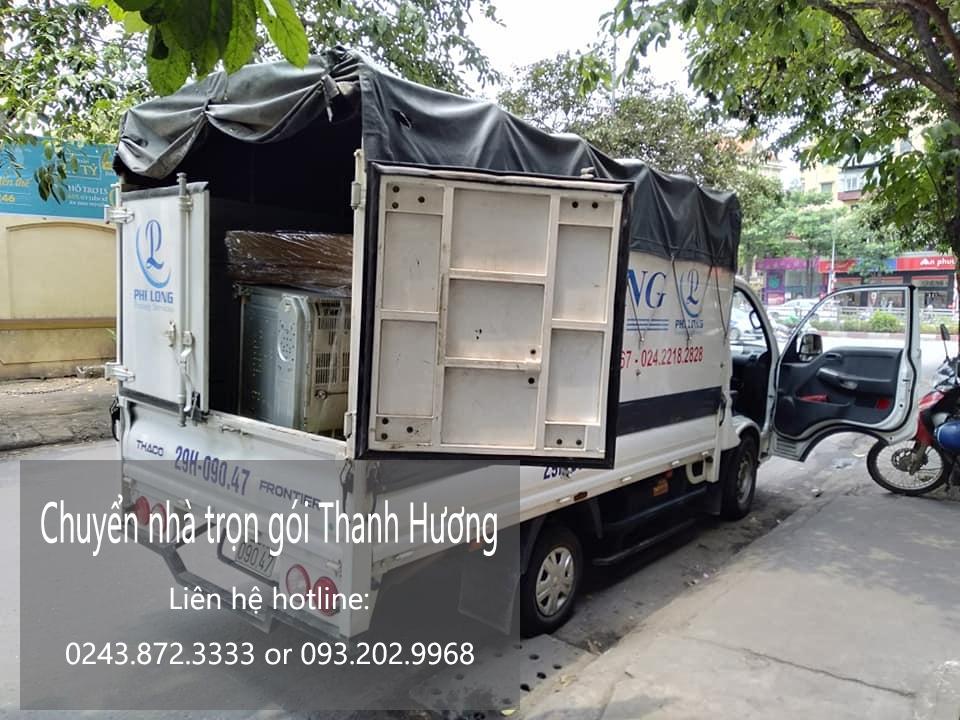 Chuyển nhà Hà Nội chất lượng tại phố Dương Xá