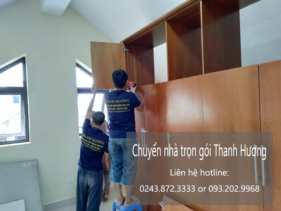 Hãng chuyển văn phòng Hà Nội tại phố Đào Cam Mộc