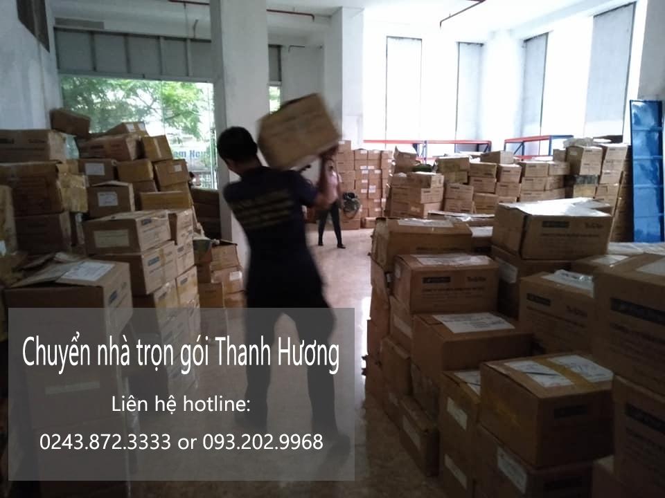 Chuyển hàng tết Hà Nội phố Lê Hồng Phong