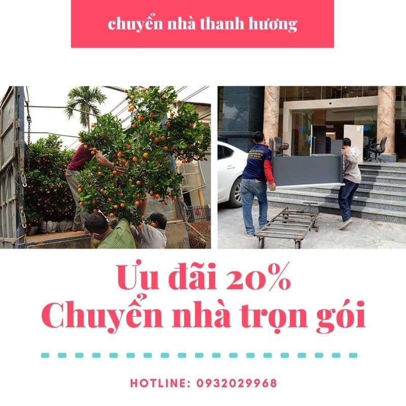Chuyển văn phòng Hà Nội chất lượng phố Khúc Hạo