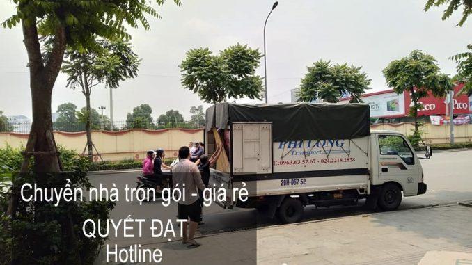 Hà Nội chuyển văn phòng giá rẻ chất lượng phố Ấu Triệu