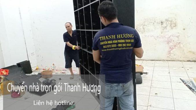 Chuyển nhà giá rẻ Thanh Hương phố Cao Thắng