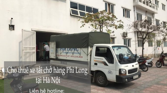 Vận tải chất lượng cao Hà Nội phố Chùa Láng