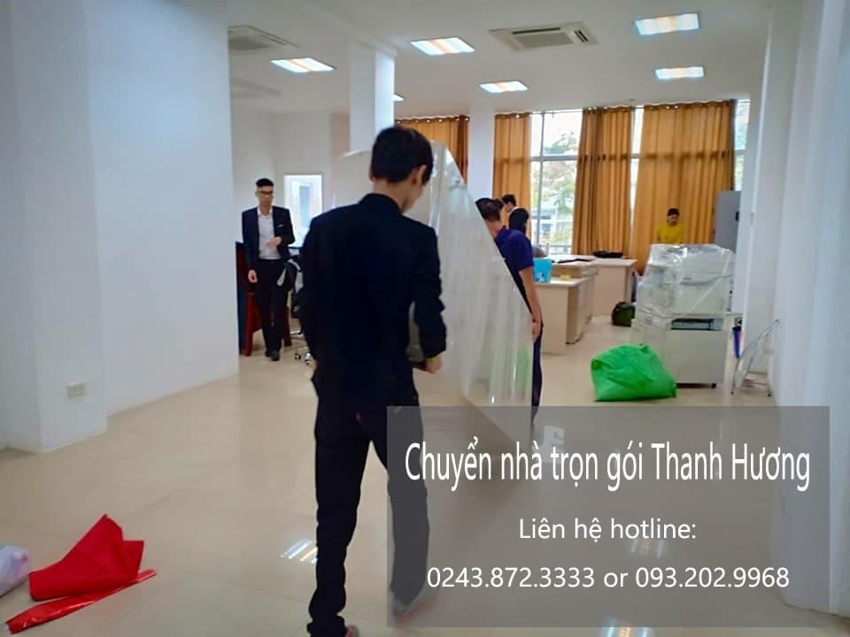 Dịch vụ chuyển văn phòng Thanh Hương tại phố Tứ Hiệp