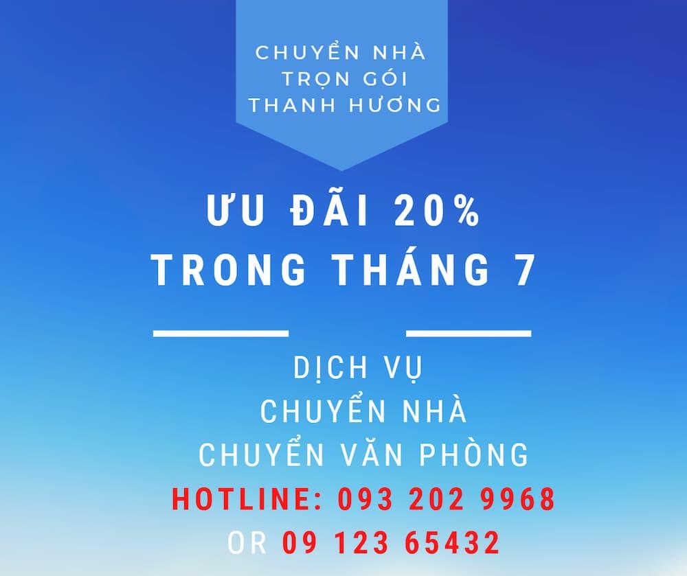 Dịch vụ chuyển văn phòng Thanh Hương tại xã Tân Minh